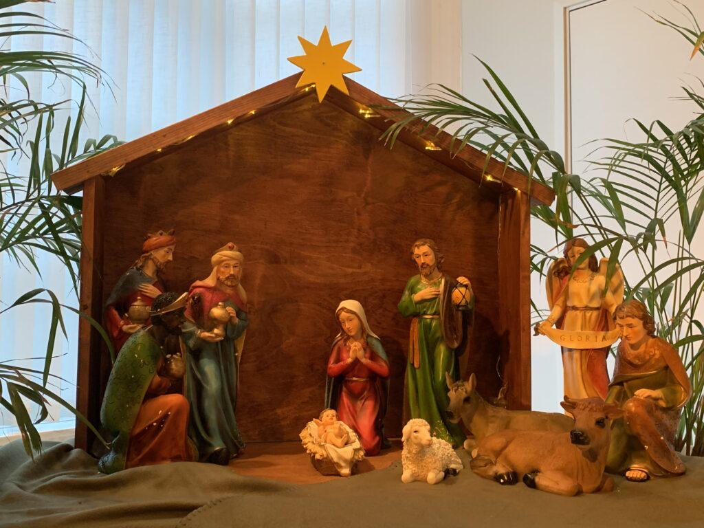 Betelkyrkans julkrubba